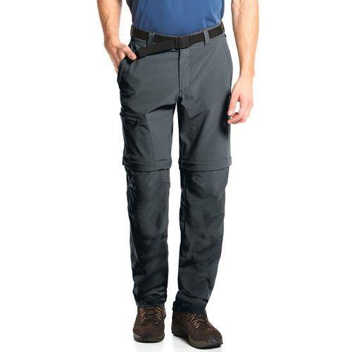 tajo 2 spodnie długie mężczyźni szary 50 2018 spodnie z odpinanymi nogawkami marki Maier sports
