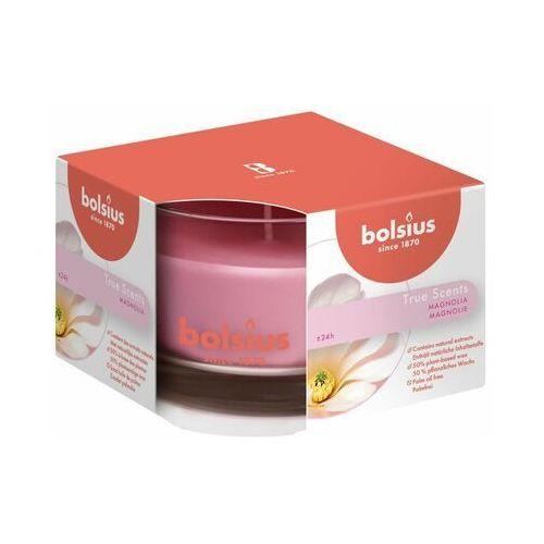 Bolsius Świeca zapachowa w szkle true scents magnolia (8717847136145)