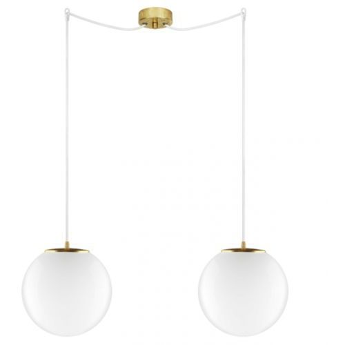 LAMPA wisząca TSUKI ELEMENTARY L2/S/OPAL Sotto Luce szklana OPRAWA klasyczna minimalistyczny ZWIS kule białe