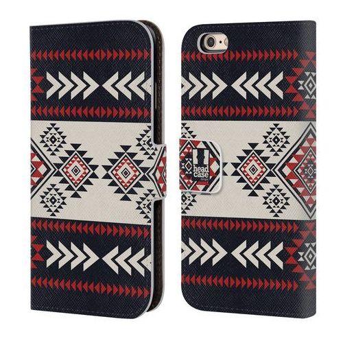 Head case Etui portfel na telefon - neo navajo navy blue