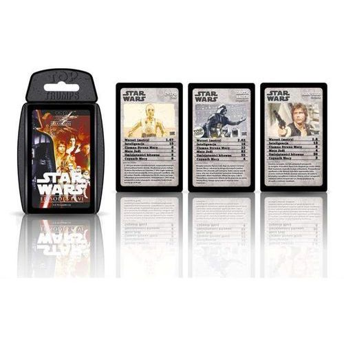 TOP TRUMPS Gra karciana Star Wars 4-6