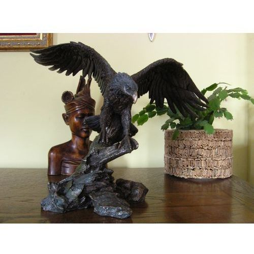 Rzeźba - orzeł ze skrzydłami - marki Veronese