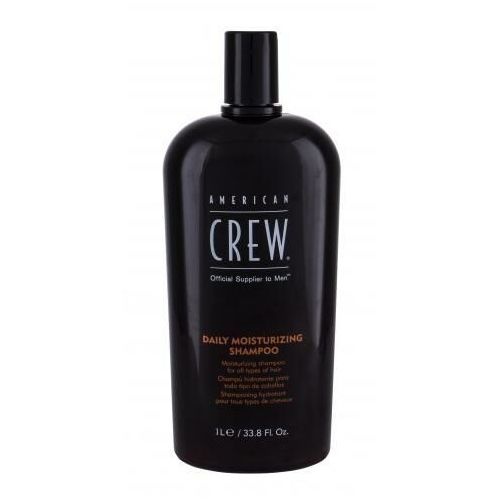 American crew classic daily moisturizing szampon do włosów 1000 ml dla mężczyzn