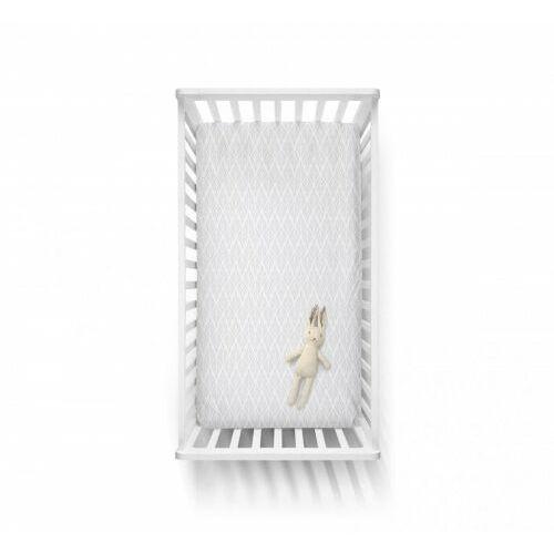 Baby steps - bawełniane prześcieradło - neutral 70x140 cm
