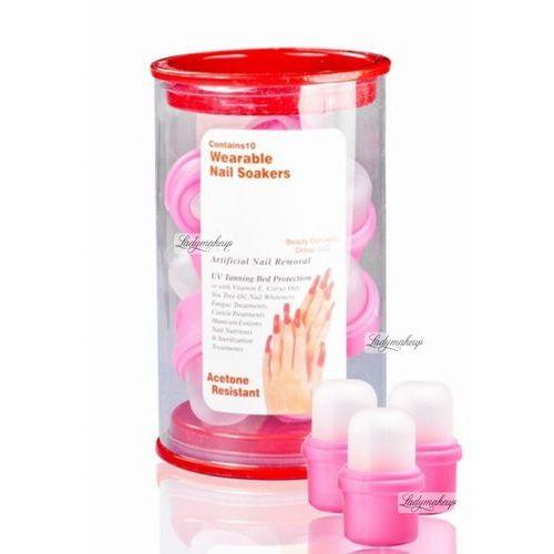 NeoNail - WEARABLE NAIL SOCKERS - Naparstki do ściągania sztucznych paznokci - 10 sztuk - 1244 z kategorii Tipsy
