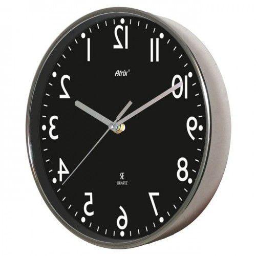 Zegar chodzący wstecz chromowany lustrzany, ACE2019BL