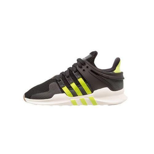 adidas Originals EQT SUPPORT Tenisówki i Trampki coreblack/semi solar slime/offwhite, kolor czarny