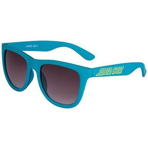 Santa cruz Okulary słoneczne - classic strip sunglasses lake blue (lake blue)