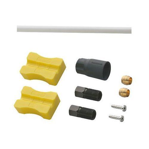 ESMBH90SSW100 Przewód hamulcowy hydrauliczny Shimano Deore SM-BH90-SS 1000 mm przód biały