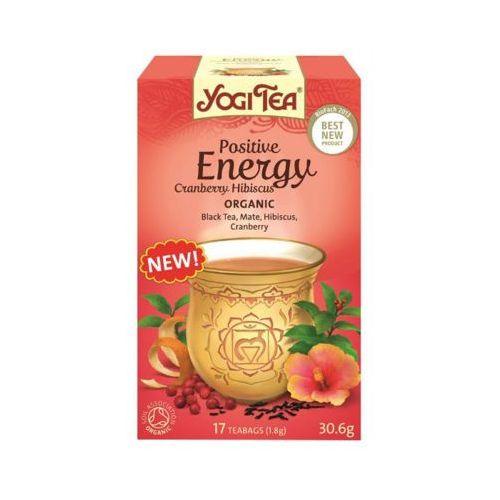 Yogi tea 17x1,8g herbata pozytywna energia bio