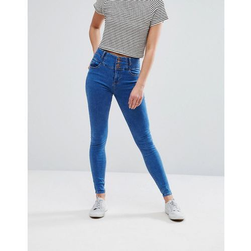 New Look Soft Skinny Jeans - Blue, skinny