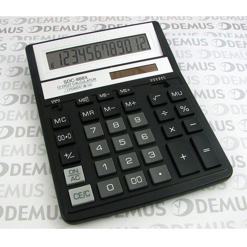 Kalkulator Citizen SDC-888XBK (4562195132738) - Dobra cena!
