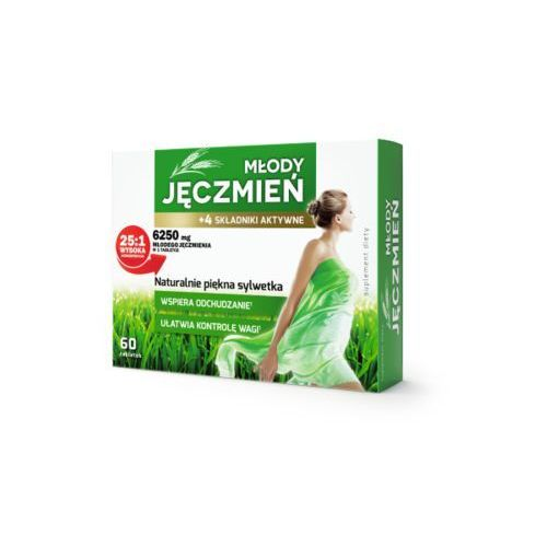 Młody jęczmień tableki 60 szt. COLFARM (5901130355303)