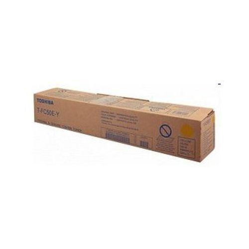 Toshiba Toner oryginalny t-fc50e-y żółty do e-studio 5055 cse - darmowa dostawa w 24h