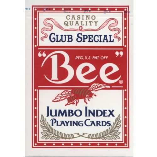 United states playing card company Karty do gry bee jumbo index (0073854000779)