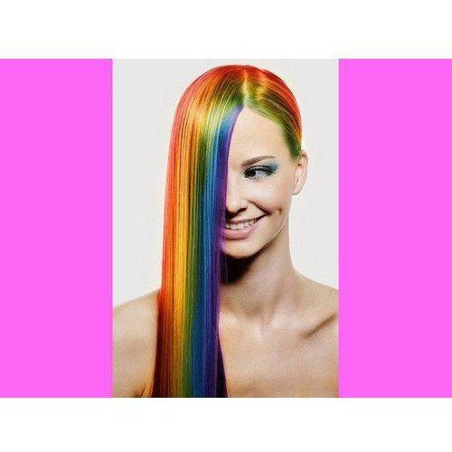 Zmywalny kolorowy spray do włosów 125 ml - różowy