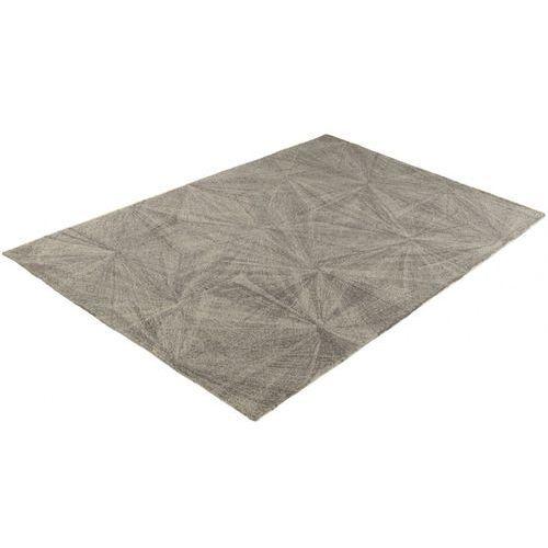 Dywan piotr - 100% wełny ręcznie tuftowanej - 160 * 230 cm - szary marki Vente-unique