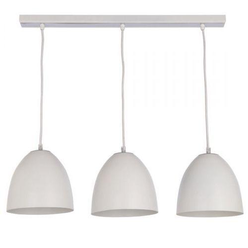 Lampa wisząca Sigma Fidzi 3 biała nad stół metal, kolor Biały
