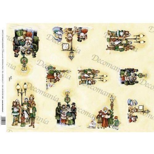Papier ryżowy Decomania 35x50 cm