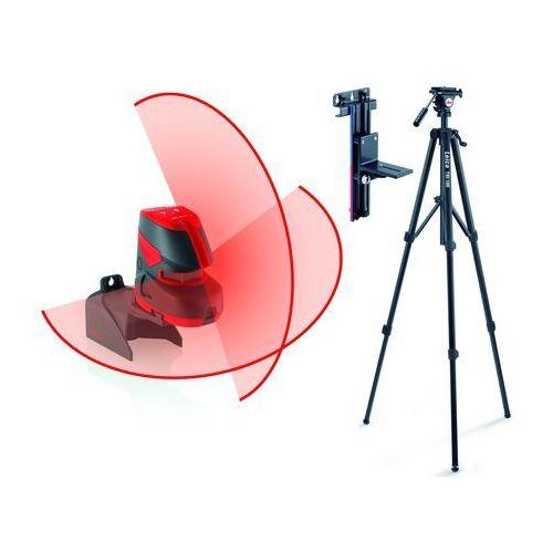 Poziomica laserowa Leica Lino L2+, statyw, uchwyt ścienny