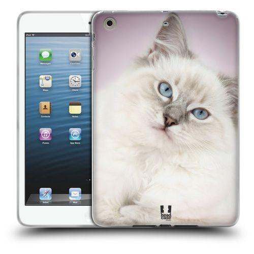 Head case Etui silikonowe na tablet - popularne rasy kotów ragdoll biały