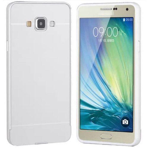 Obudowa Zolti Bumper Metal Samsung Galaxy J5 Srebrna - Srebrny
