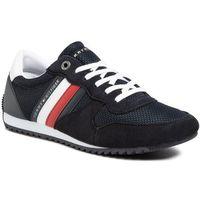 Sneakersy - esential mesh runner fm0fm02666 desert sky dw5 marki Tommy hilfiger