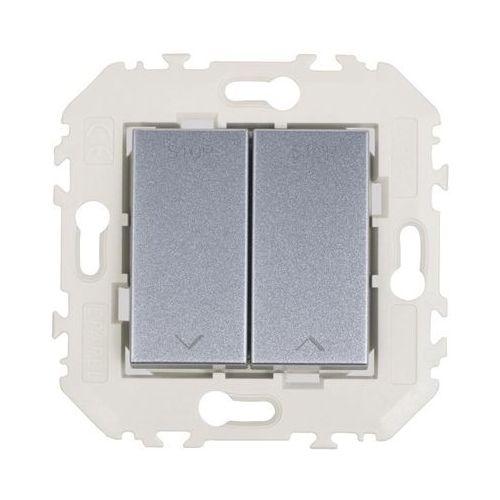 Efapel Włącznik żaluzjowy quadro aluminium