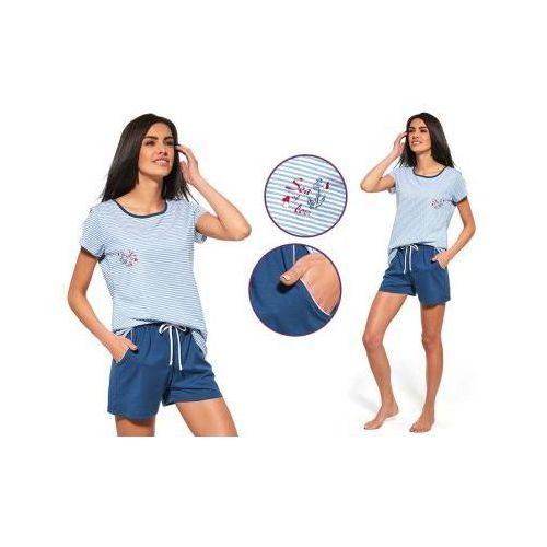 Piżama damska MARITA: niebieski, kolor niebieski