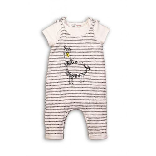 Komplet niemowlęcy body + spodnie 5p36ak marki Minoti