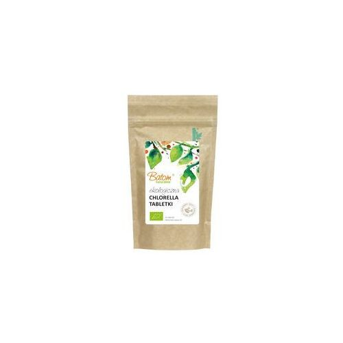 Batom (dżemy, soki, kompoty, czystek) Chlorella tabletki bio 150 g (1 tabletka = 200 mg) – batom (5907709957824)