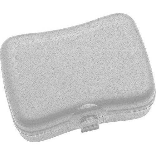 Pudełko na lunch Basic Organic szare