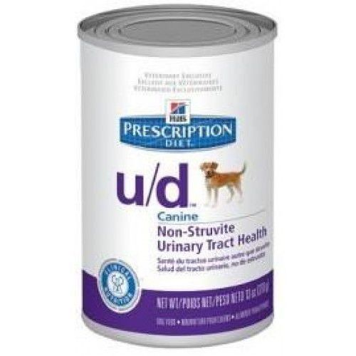 Hill's prescription diet u/d canine puszka 370g marki Hills prescription diet