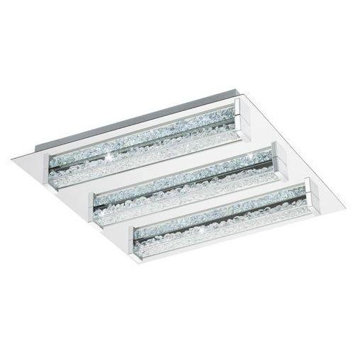 Plafon Eglo Cardito-S 95489 lampa oprawa sufitowa 6x4,5W LED chrom / kryształ