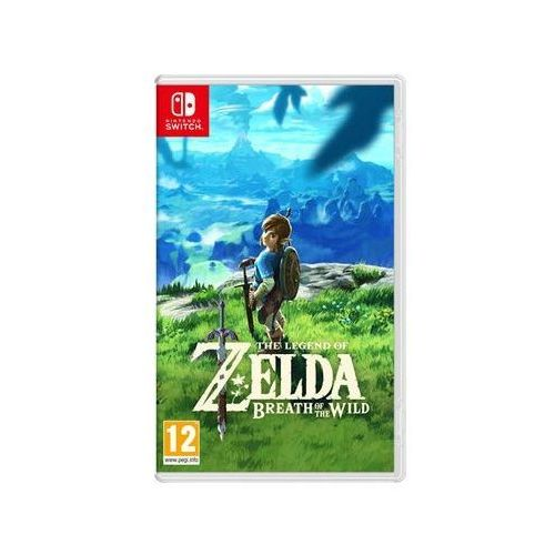 Nintendo Gra  switch the legend of zelda: breath of the wild (0045496420055)