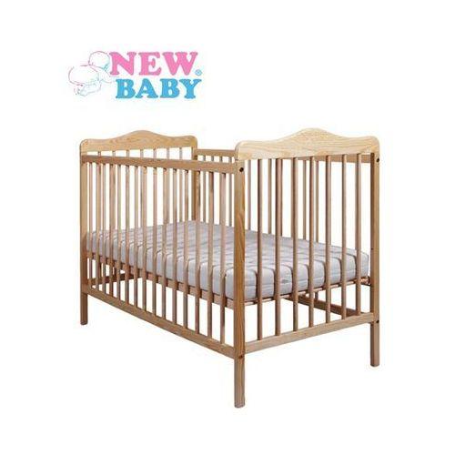 Klasyczne łóżeczko dla dzieci  jakub - naturalny marki New baby
