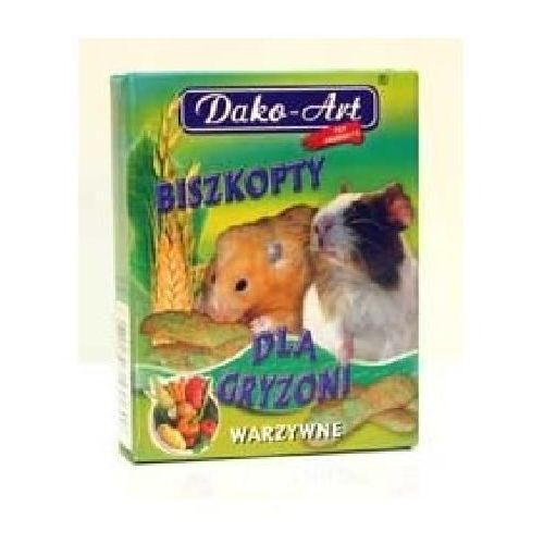 Dako art biszkopty dla gryzoni warzywne 50g marki Dako-art