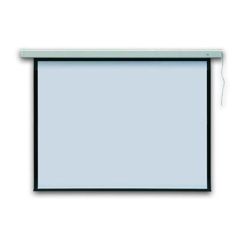 Ekran projekcyjny 195x145 cm profi elektryczny  - x06098 marki 2x3