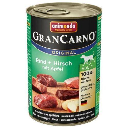 grancarno adult wołowina-jeleń-jabłko 400g marki Animonda