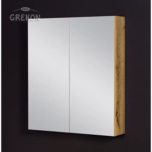 Gante Szafka łazienkowa z lustrem 70x80 seria fokus ne