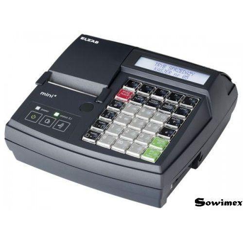 Kasa fiskalna ELZAB Mini E z klawiaturą modułową, 110