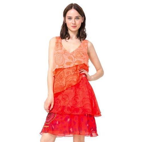 Desigual sukienka damska Nerea 38 wielokolorowy (8434486050204)