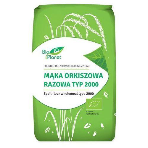 Bio planet : mąka orkiszowa razowa typ 2000 bio - 500 g