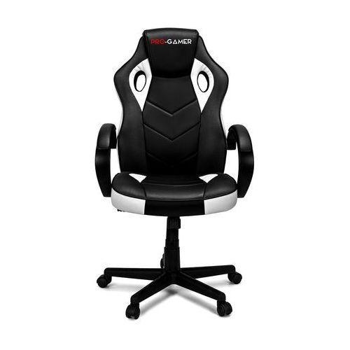 Fotel gamingowy pagani biały dla graczy marki Pro-gamer