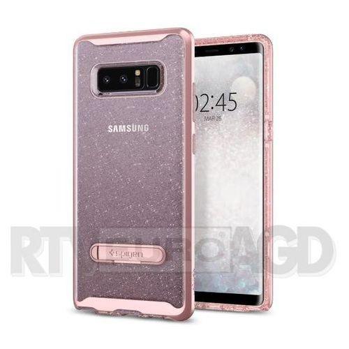 Spigen Crystal Hybrid Glitter 587CS21845 Samsung Galaxy Note8 (różowy), kolor różowy