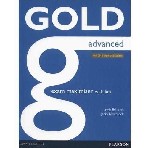 Gold Advanced exam maximiser with key Online Audio (9781447907060)
