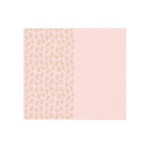 Papier do pakowania prezentów różowy, mix - 70 x 200 cm - 2 szt.