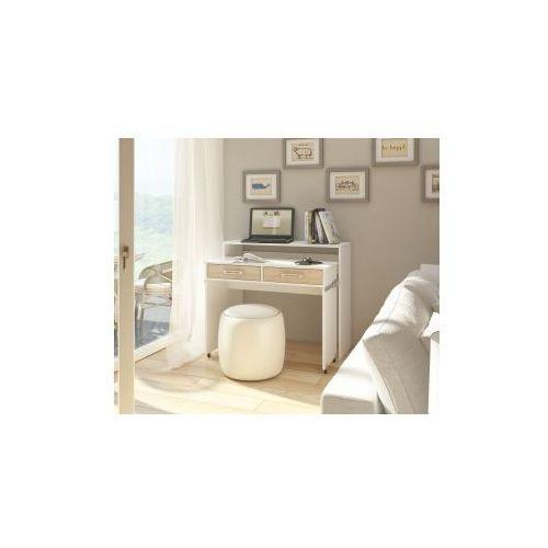 Biurko Move- biały mat/dąb sonoma (5903018210261)