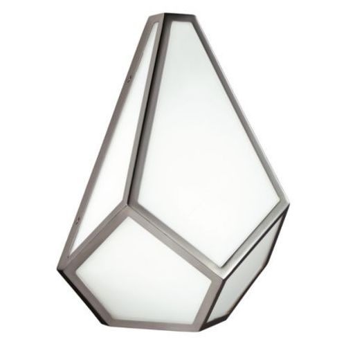 Kinkiet LAMPA ścienna FE/DIAMOND1 Elstead FEISS metalowa OPRAWA diament nikiel biały (1000000188608)