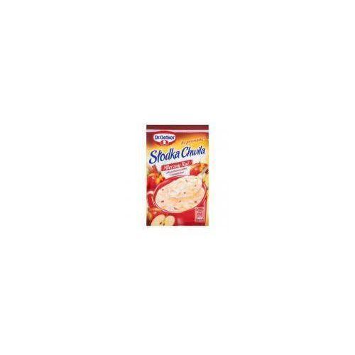 Ryż z kawałkami jabłek i cynamonem słodka chwila mleczny 58 g  marki Dr. oetker